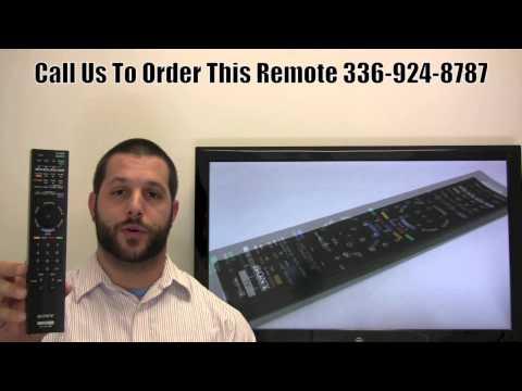 SONY RMYD036 Remote Control PN: 148771012 - www.ReplacementRemotes.com