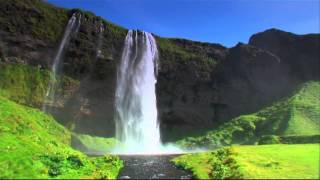 Initial frame of Iceland video