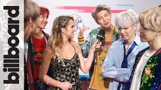BTS After Their First U.S. Television Debut for The 2017 American Music Awards
