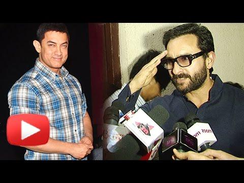 Saif Ali Khan PHENOMENAL Reaction On Aamir Khan's