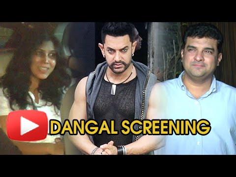 Aamir Khan Hosts DANGAL Special Screening For Cele