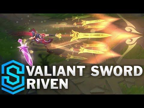 Riven Ngạo Kiếm - Valiant Sword Riven