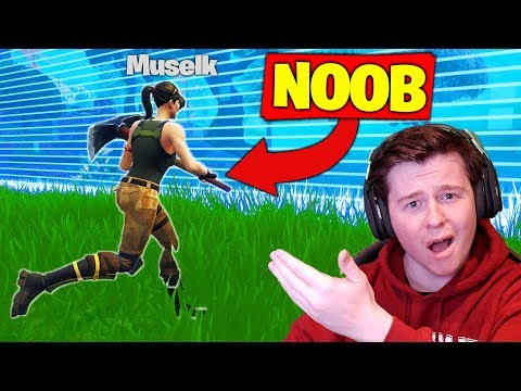 REACTING To My *FIRST* Fortnite Game!