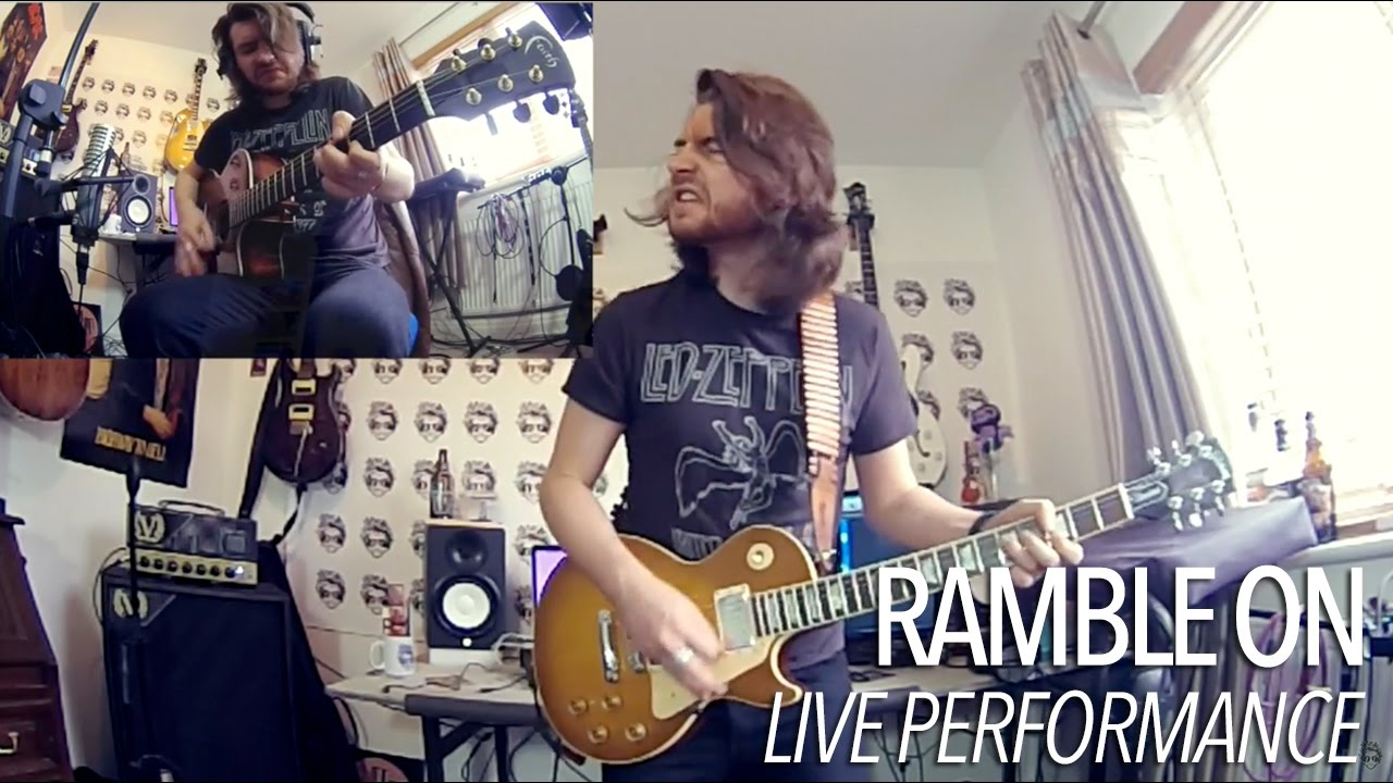 """How To Play """"Ramble On"""" by Led Zeppelin (Full Electric Guitar Lesson)"""