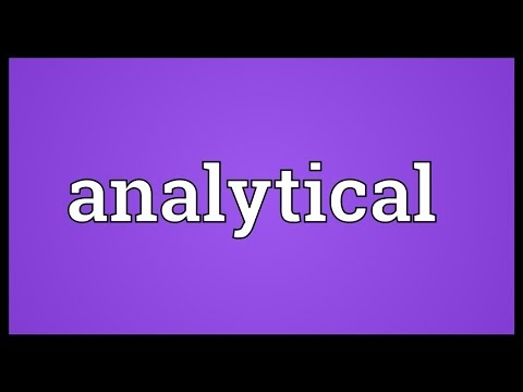 Analytical Meaning