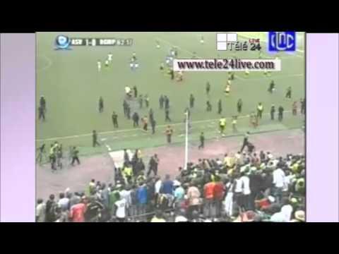 TÉLÉ 24 LIVE: le match entre V.club-DCMP a été interrompu après le but de V.club