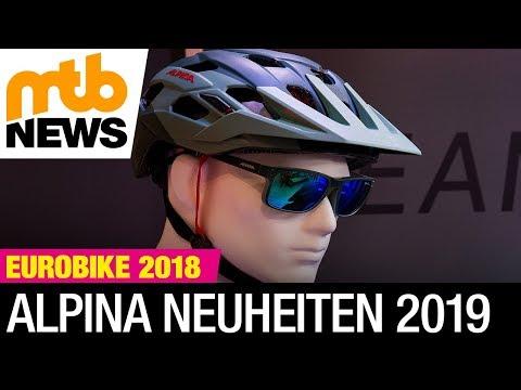 Eurobike 2018 Alpina stellt neuen Enduro-Helm und passende Brille vor