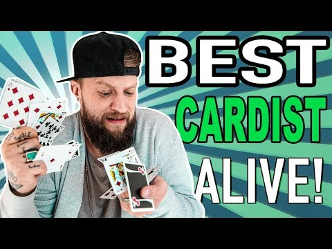 REACTING to BEST cardist alive!