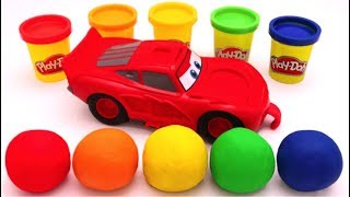 Video Learn Colors with Play Doh Disney Pixar Lightning McQueen for Kids MP3, 3GP, MP4, WEBM, AVI, FLV Januari 2018
