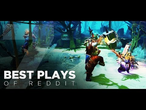 Dota 2 Best Plays of Reddit - Ep. 07 (видео)