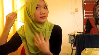 Simple Hijab Paris Tutorial 2013