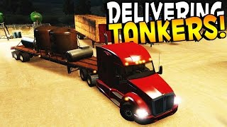 Welcome back to American Truck Simulator! In this episode, part 2, we take on the task of transporting some tankers! Sadly, I don't think the tankers contain...