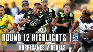 Hurricanes v Rebels Rd.12 2019 Super rugby video highlights | Super Rugby Video Highlights