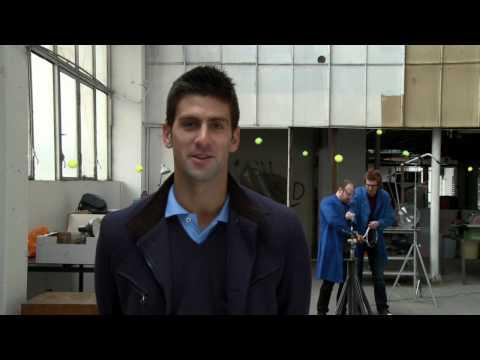 Djokovic versus una máquina de tenis