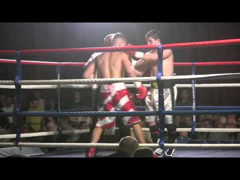 Boxing Matt McCarthy at Civic Hall March 2013