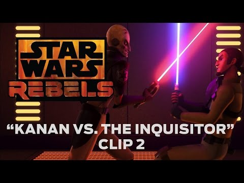 Star Wars Rebels (Clip 'Kanan vs. The Inquisitor')