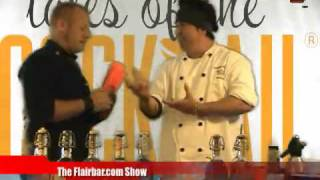 Flairbar.com Show with Graham Kimura behind the bar @ Tales of the Cocktail 2010!