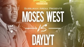 "Barburians Arena Presents ""THE ASCENSION"" Moses West vs Daylyt"