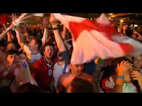 Ξέφρενοι πανηγυρισμοί για Αγγλία και Σουηδία