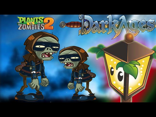 plants vs zombies 2 ninja zombie china version dark ages