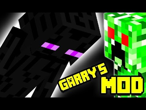 HEROBRINE, CREEPERS AND MORE! Gmod MINECRAFT Pills Pack Mod (Garry's Mod)