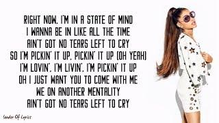 Video Ariana Grande - NO TEARS LEFT TO CRY (Lyrics) MP3, 3GP, MP4, WEBM, AVI, FLV Juni 2018