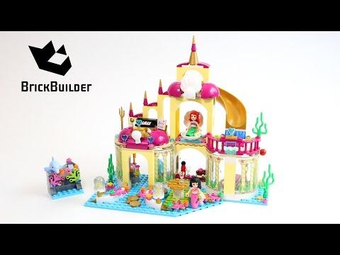 """Конструктор Lego Disney Princesses 41063 """"Подводный дворец Ариэль"""""""