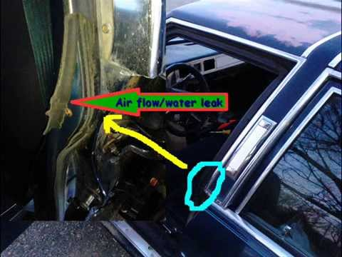 How to replace weather stripping 1985 Mercury Grand Marquis