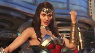 Wonder Woman and Blue Beetle join the cast of Injustice 2