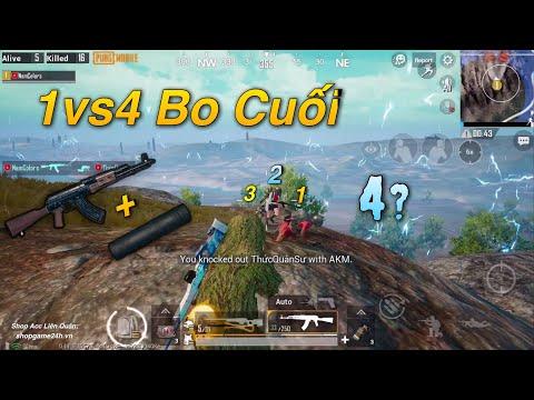 PUBG Mobile | SOLO Squad - Combo Huỷ Diệt AKM Silencer 6X Scope || Clear Team Max Nhanh √ - Thời lượng: 12 phút.