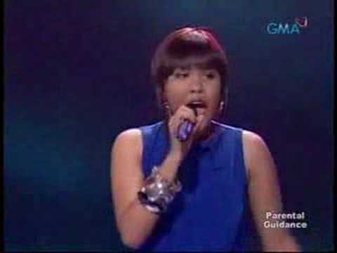 pinoy pene - Pinoy Idol Top 14 Semi Finals Top 7 Girls Philippines Theme: Father's Day Song: Papa, Can You Hear Me by Barbara Streisand.