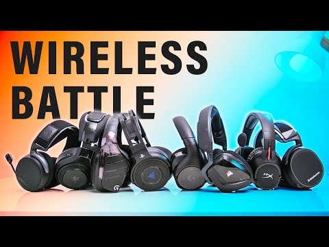 These Are The Best Wireless Gaming Headsets!