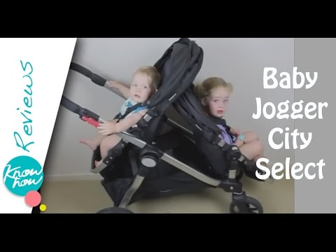 Baby Jogger City Select Stroller Review, Baby Jogger Double Stroller
