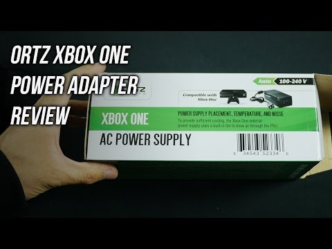 Ortz Xbox One AC Power Adapter Unboxing Review