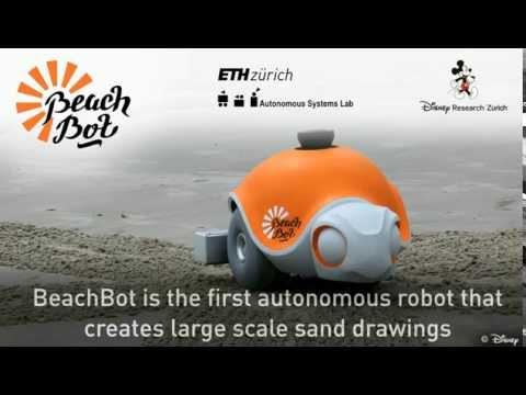 PŘEDSTAVUJEME: Robot, který kreslí do písku nádherné Disney obrázky