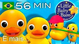 Os melhores vídeos educativos no YouTube - belíssima e colorida animação 3D em fantástico HD!Grande compilação da LBB! Agora disponível para compra/descargahttps://bamazoo.com/littlebabybumbrazilBrinquedos: http://littlebabybum.com/shop/plush-toys/© El Bebe Productions Limited00:04 Seis Patinhos01:59 A Família dos Dedos03:02 Dez na cama05:31 Canção Vamos Nadar07:17 Seu MacDonald tinha um sítio - Versão 108:33 Dez Pequenos Animais09:52 Canção ABC das Bolhas11:56 As Formigas Marcham13:38 Bingo - Versão 215:57 Canção da Partilha17:42 A Família dos Dedos - Gatos18:47 A Canção de Vestir20:18 Canção do Olá21:55 Se Você Está Contente - Versão 123:54 Tema LittleBabyBum25:11 Girando à volta da amoreira26:54 Abra, Feche28:33 Canção do Jogo de Esconde29:56 Gira, gira a roda31:24 Cinco patinhos33:30 Canção Atravessando a Estrada35:21 Trem das Formas37:26 Cinco Monstrinhos39:04 A canção do ABC (Balões)40:58 Três Gatinhos43:15 Brilha Brilha Estrelinha - O principe e a estrela45:23 As rodas do ônibus - Versão 147:17 Pequena Bo Peep48:38 O Urso Subiu a Montanha50:29 12345 Eu peguei um peixe vivo51:47 As rodas do ônibus - Versão 653:44 A canção do trem das cores55:33 Mé, mé, ovelha negra - Versão 1