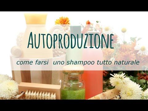 shampoo fai-da-te tutto naturale!