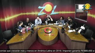 Luis Henry Molina Dir. del centro de Inversión y Exportaciones de RD recibe preguntas de los Oyente