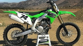 1. First Ride 2019 Kawasaki KX450 - Motocross Action Magazine