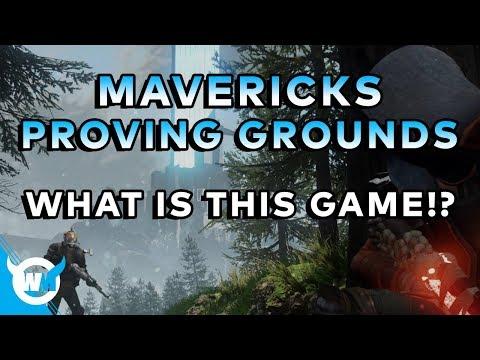 MAVERICKS PROVING GROUNDS - BATTLE ROYALE OR MMOFPS? - E3 2018 Info