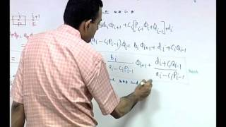 Mod-01 Lec-23 Solution Of Systems Of Linear Algebraic Equations: Elimination Methods (Contd.)
