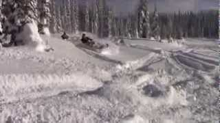 Revelstoke (BC) Canada  City new picture : Powder Riding in Revelstoke, B.C. - Great Canadian Snowmobile Tours