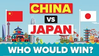 Who would win in a hypothetical battle between China and Japan? Who has a better and stronger military, navy, air force, etc?