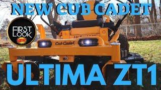 6. Cub Cadet ULTIMA ZT1 ZT2 | New Zero Turn Lawn Mower Review