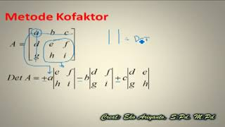 "Download Lagu Video Pembelajaran Matematika ""Determinan Matriks"" Mp3"