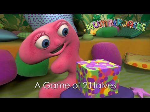 NUMBERJACKS | A Game Of 2 Halves | S1E18