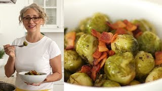 Brown-Sugar-and-Bacon-Glazed Brussels Sprouts- Everyday Food with Sarah Carey by Everyday Food