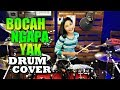 Download Lagu WALI | BOCAH NGAPA YAK | Drum Cover by Nur Amira Syahira Mp3 Free