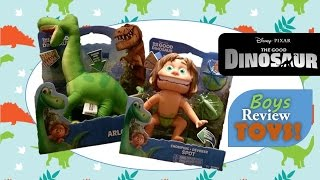Kaleif finally got his hands on the Chomping Spot & the Arlo Plush from Disney Pixar's The Good Dinosaur.  Check out the unboxing and playtime with these awesome toys.