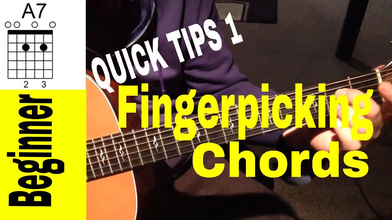 Fingerpicking Guitar Chords For Beginners-Quick Tips 1